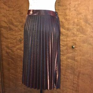 fb6b556f6 LC Lauren Conrad Skirts | Lauren Conrad Copper Metallic Skirt | Poshmark